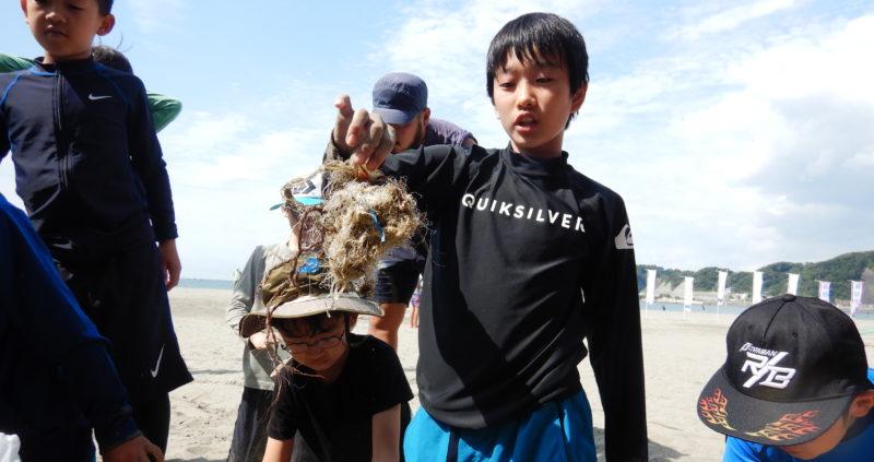 【海山eco】河口付近のゴミ調査(海側)