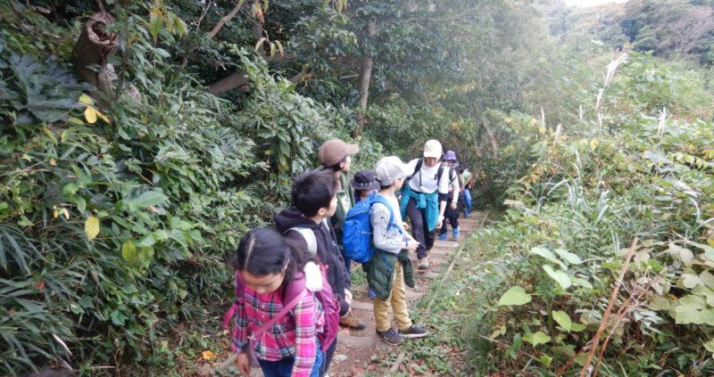 【海山キッズ】里山を歩いてみよう