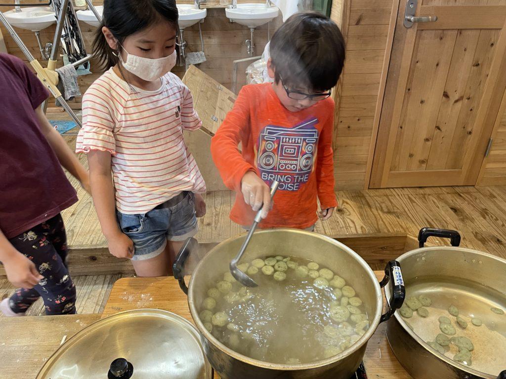 学童保育もあなのいえ料理